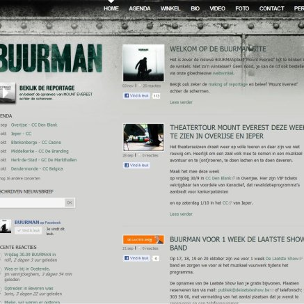 On the website of BUURMAN. (photo in centre)