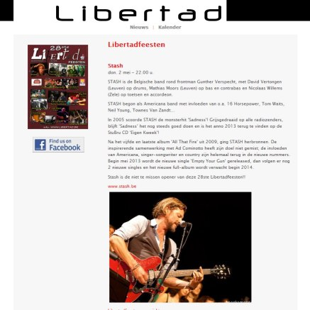 On the website of Libertad. www.libertad.be (picture cropped by Libertad)