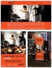 Photo for the Hybrid Drums Tour 2014 with Davy Deckmijn. Roland CE website: http://www.rolandce.com/hybrid/, poster en banner.