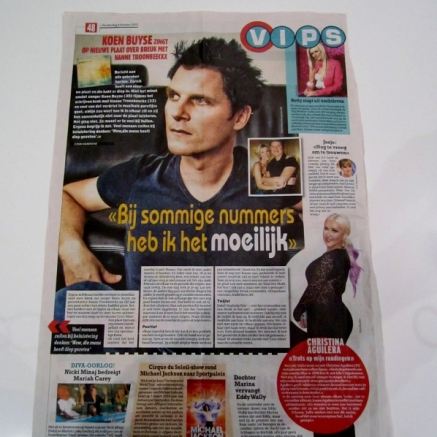 Het Laatste Nieuws 4/10/2012. (photo of Koen Buyse)