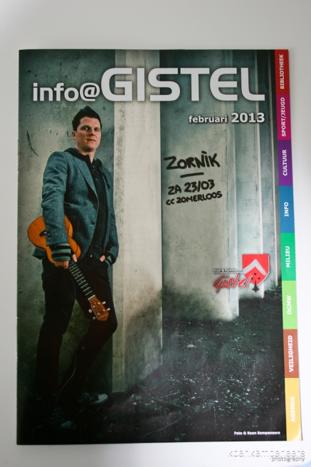 Coverphoto on the infobooklet of the city Gistel.