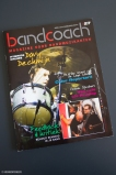 """Main photo on the cover of the magazine """"bandcoach"""" (NL)(edition juni/juli/augustus 2014)."""